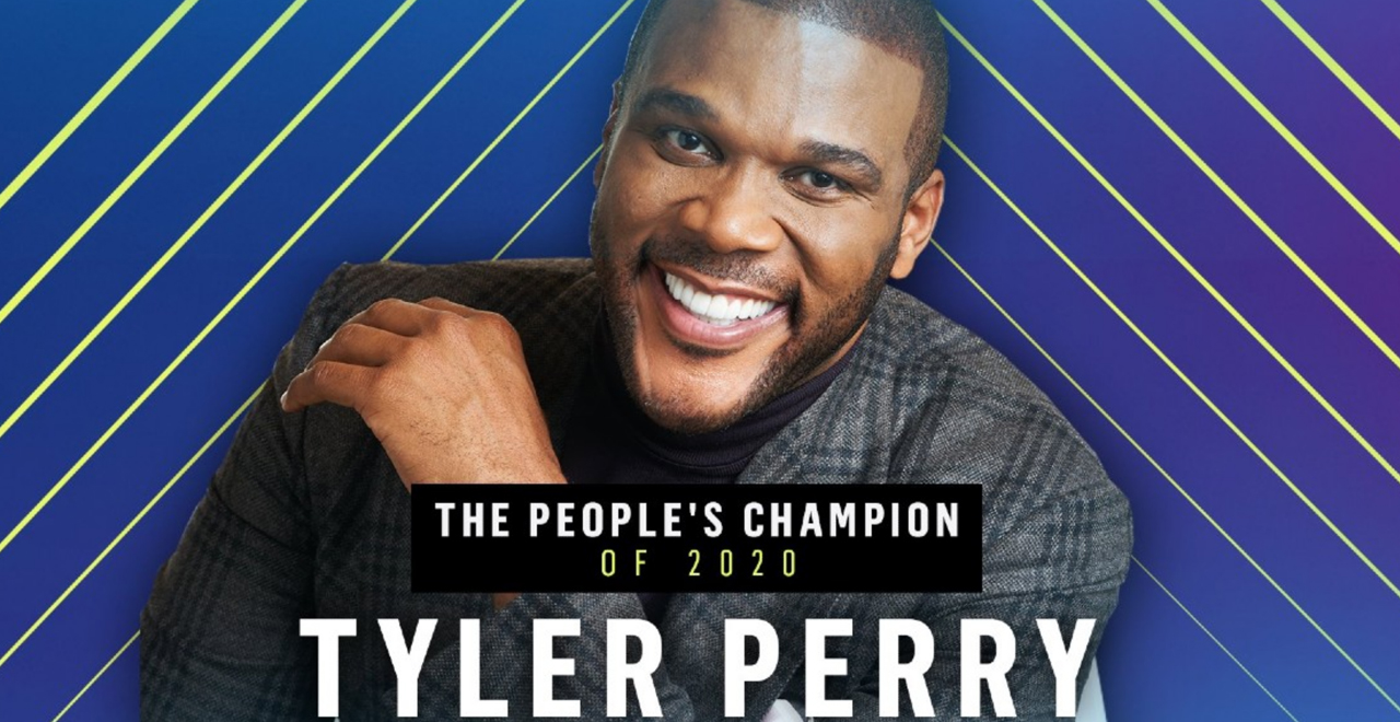 Tyler Perry is the People's Champ