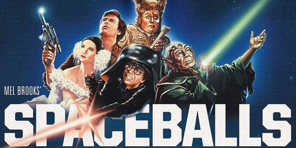 Space Balls movie poster