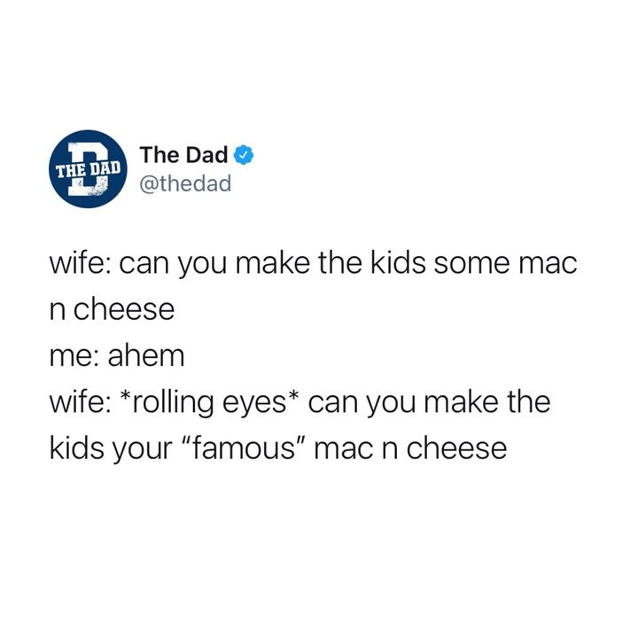 can you make the kids your famous mac n cheese