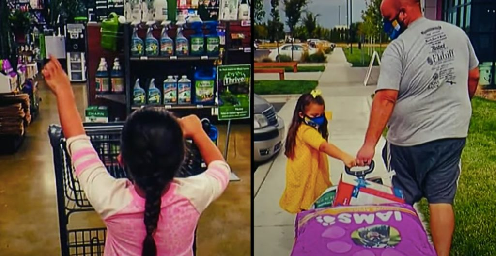 5-Year-old sells art to raise money for humane society