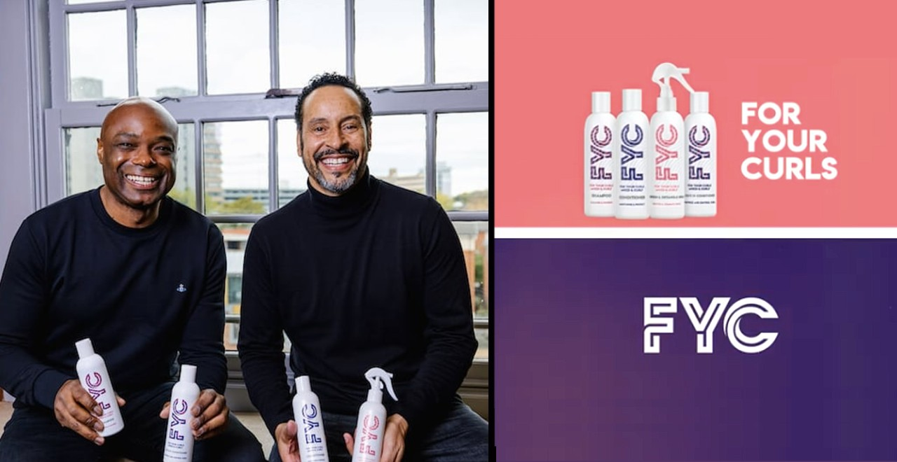 Dads create hair care line for their mixed-race kids' curls