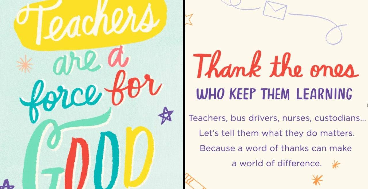 Hallmark Teacher Giveaway