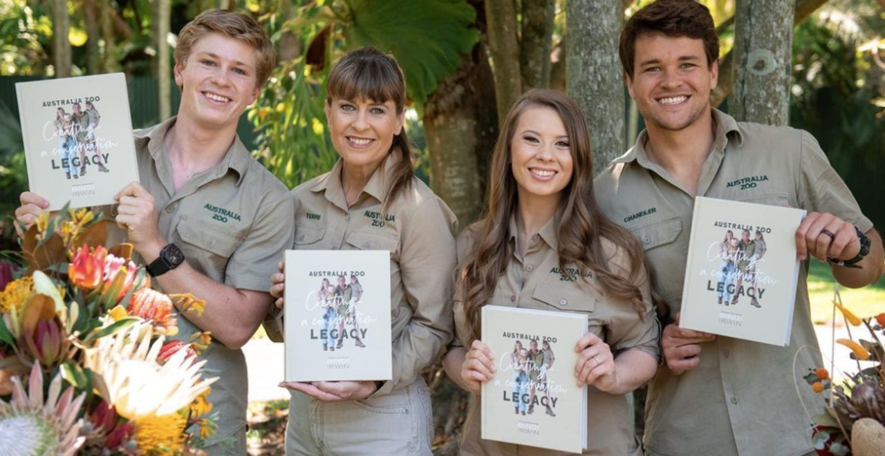 Bindi Irwin wrote a book about her family's conservation history