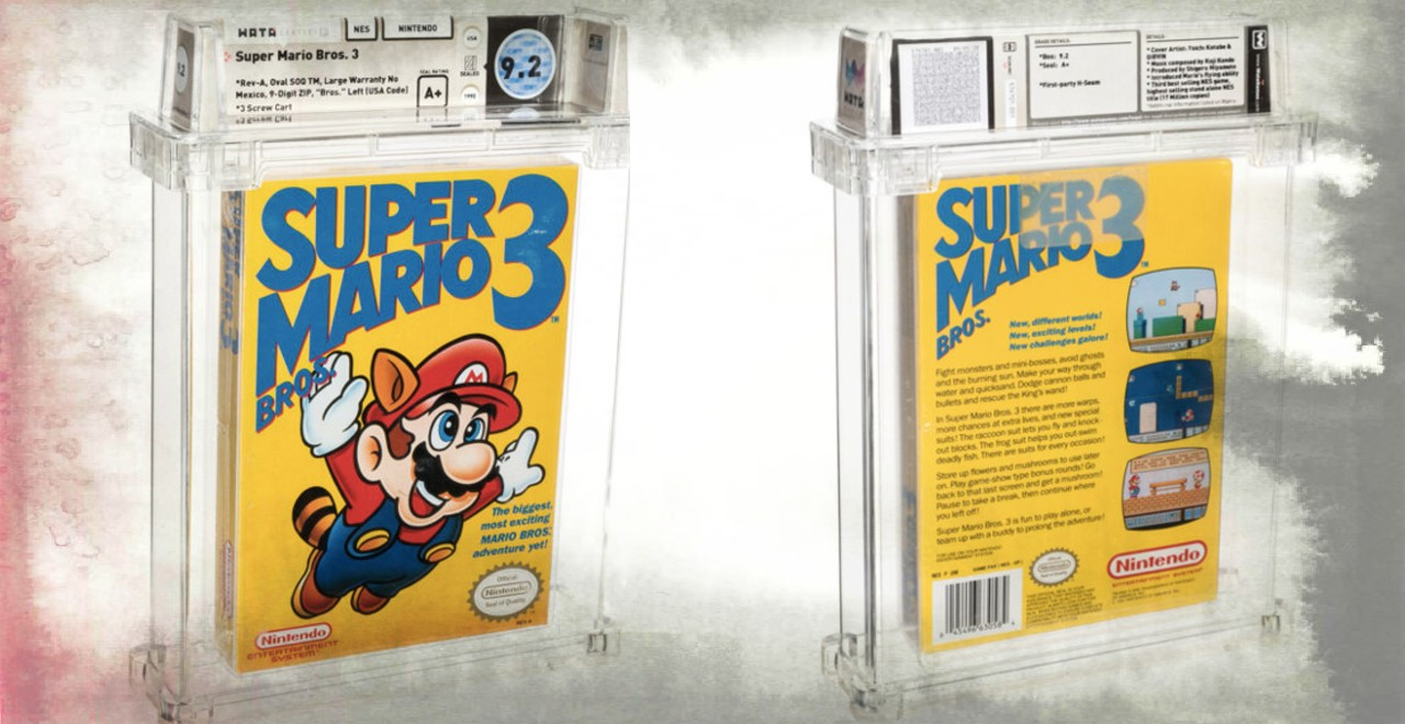 Sealed Super Mario Bros. 3 Sells for Record-Breaking Price