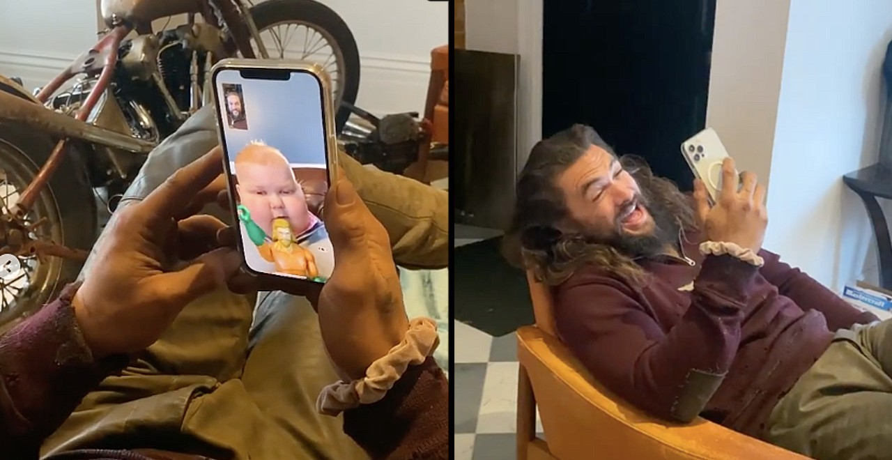 Jason Momoa Surprises Fan with Cancer