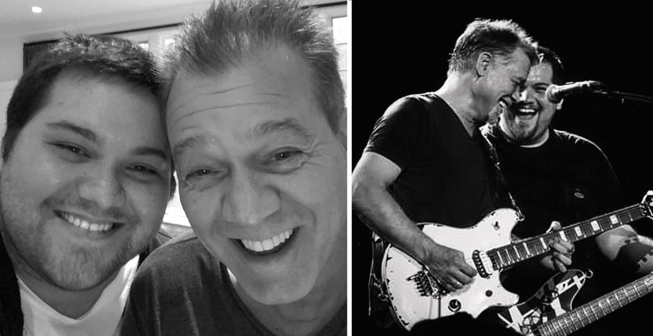 Wolf Van Halen Dad Tribute