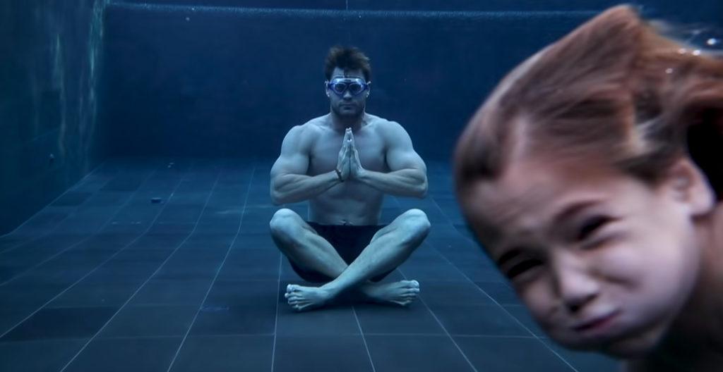 Chris Hemsworth's Meditation Fails