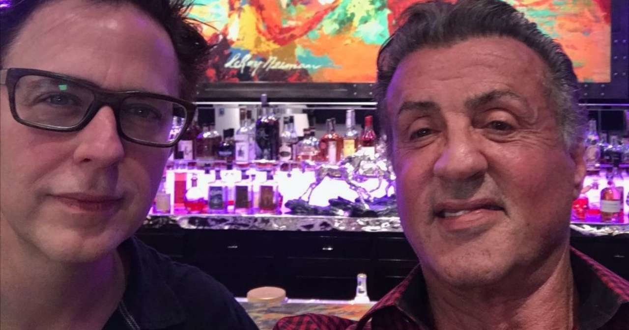Gunn and Stallone Suicide Squad