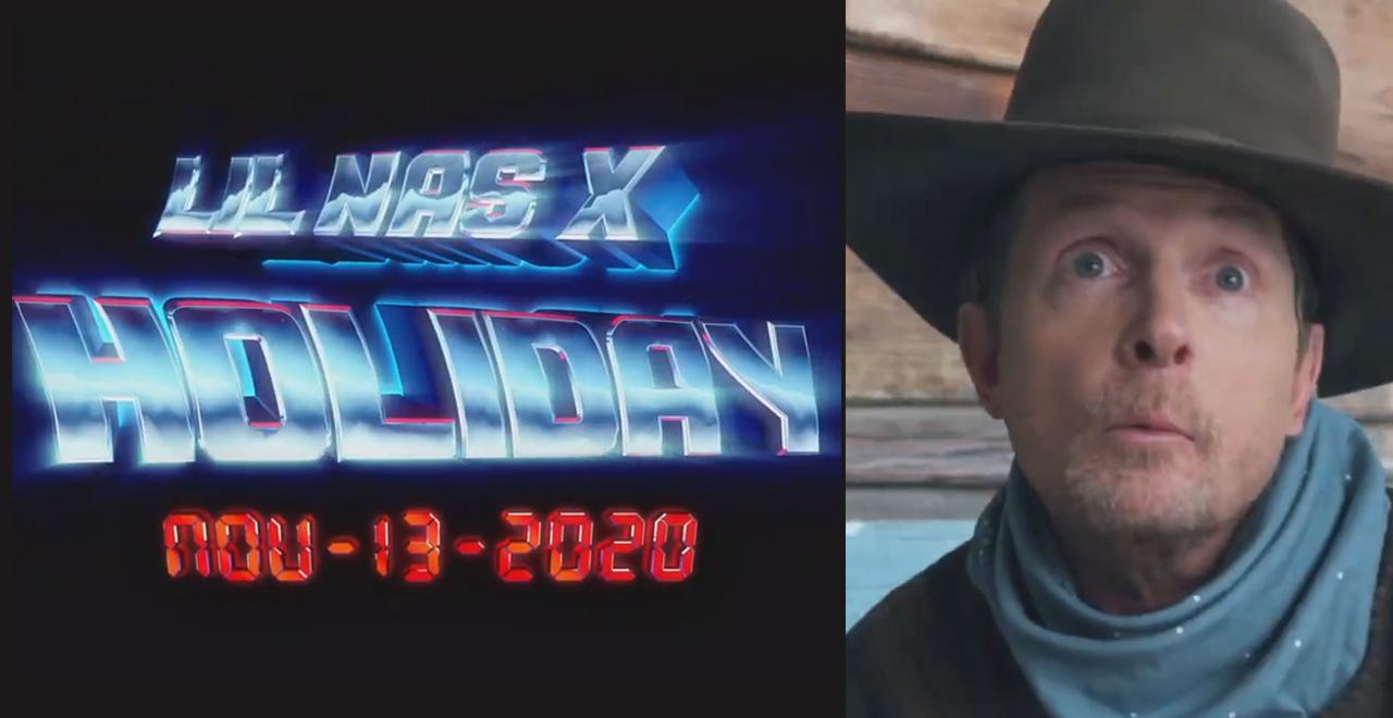 Lil Nas X and Michael J Fox
