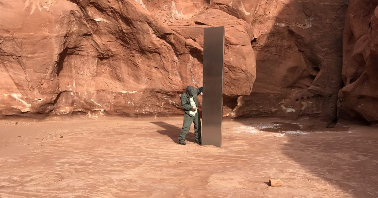 2001 Has Finally Arrived: Strange Metal Monolith Discovered in Utah