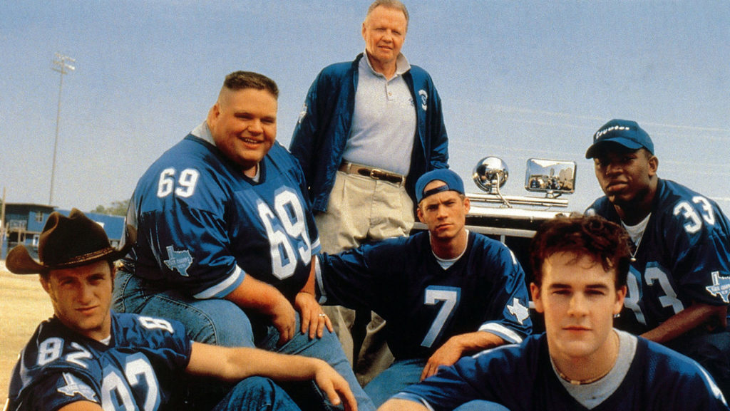 The cast of Varsity Blues