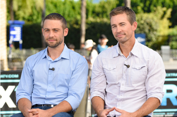 Paul Walker's brothers, Cody and Caleb