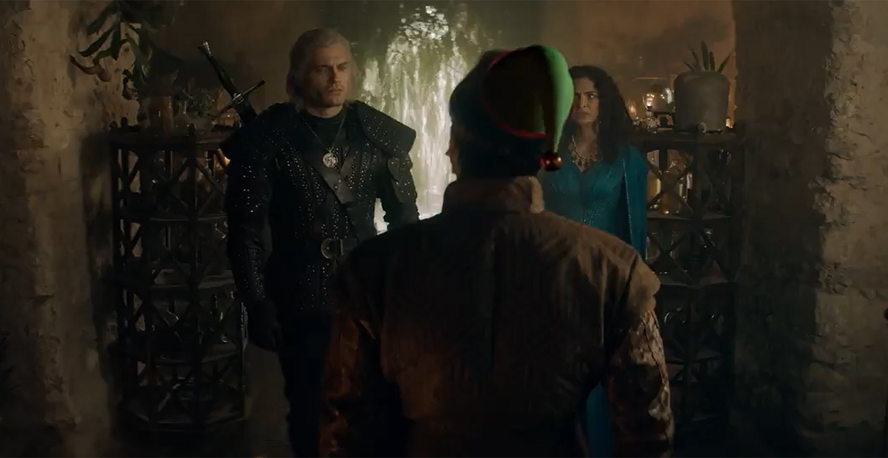 Netflix The Witcher Christmas Promo