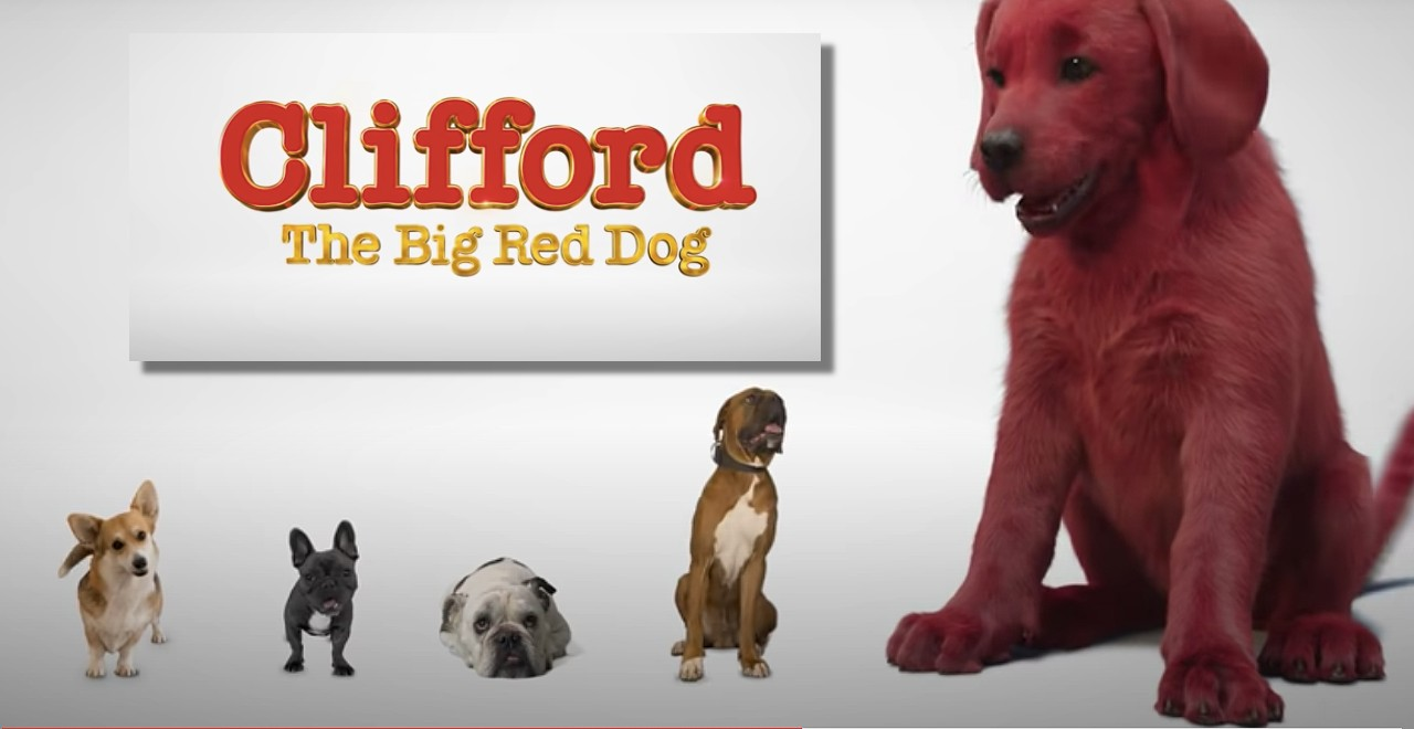 Clifford Live Action Movie First Look