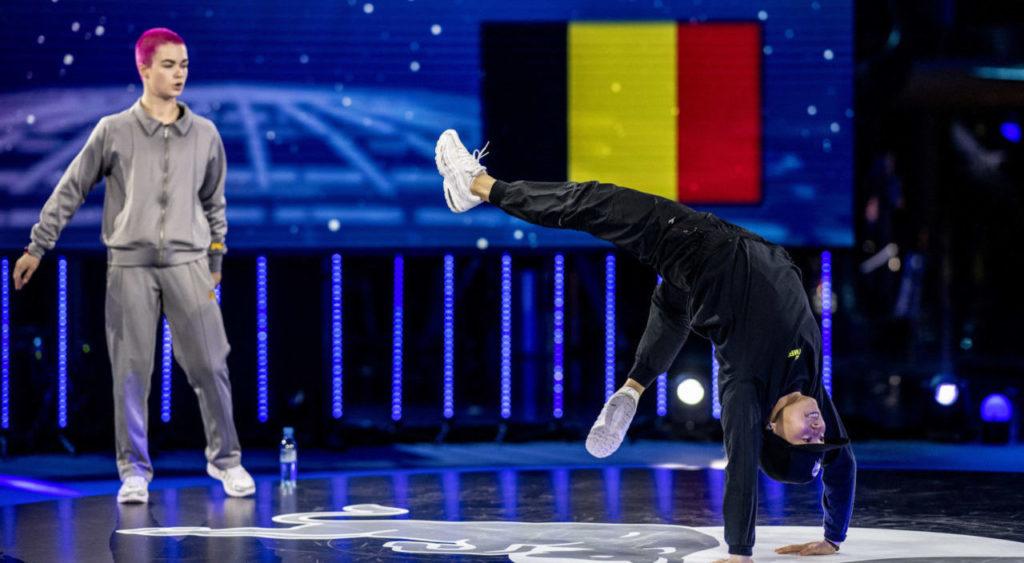 Breakdancing in Olympics
