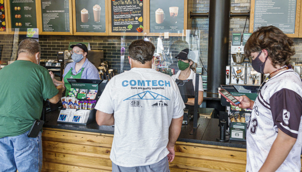 Free coffee for first responders