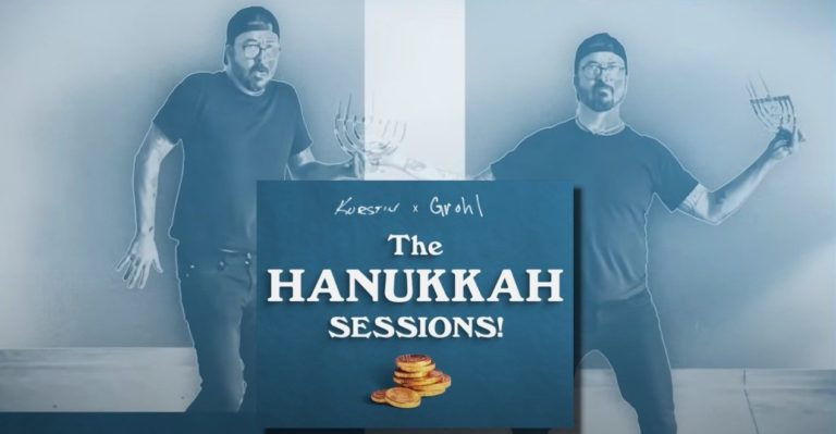 Dave Grohl and Producer Greg Kurstin Hanukkah Sessions