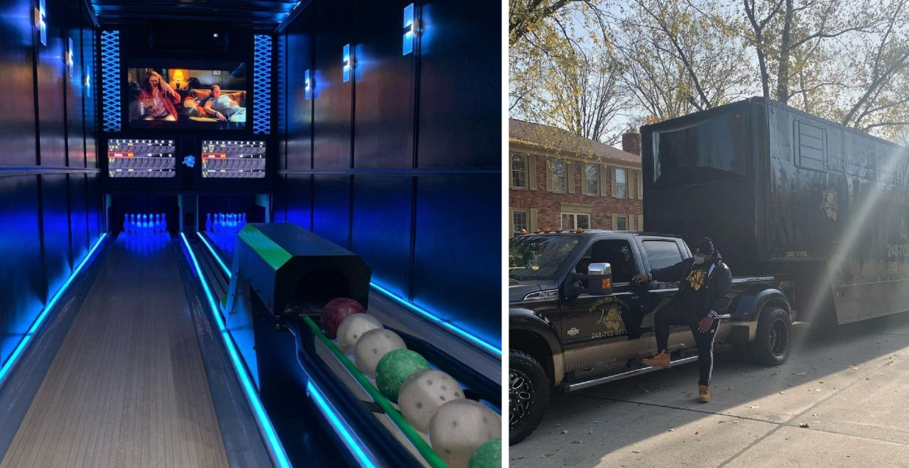 Mobile Bowling Alley