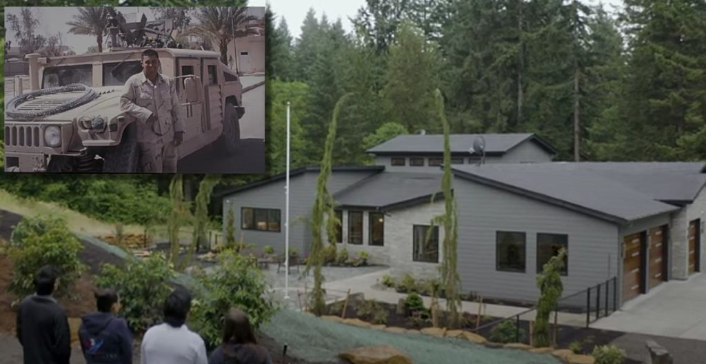 Gary Sinise Foundation Builds Adaptive Home For Wounded Veteran