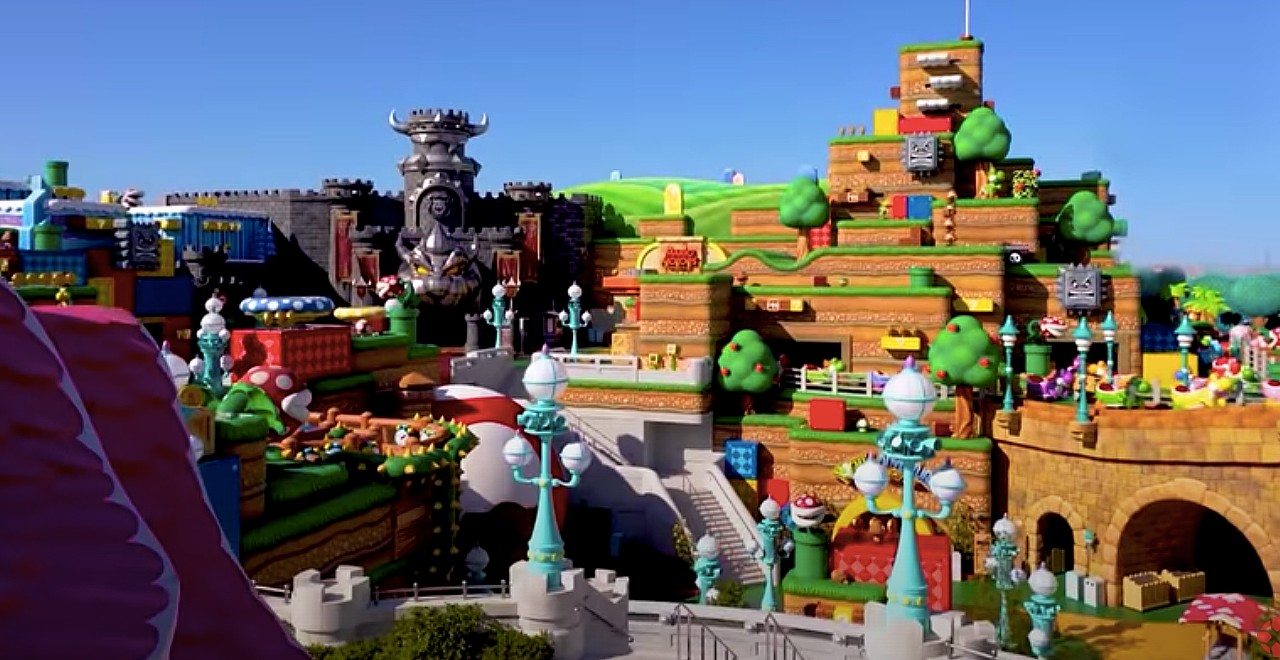 First Look Super Nintendo World