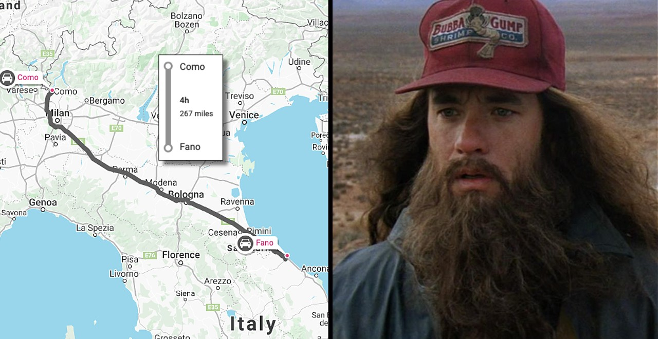 Man walks 280 miles after argument with wife