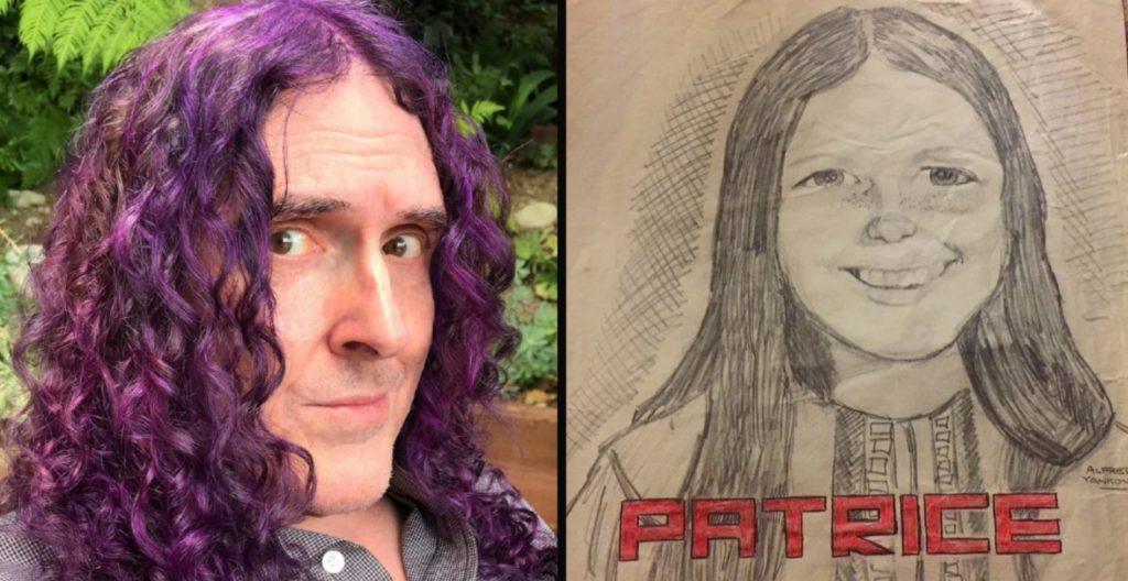 Weird Al Patrice Drawing