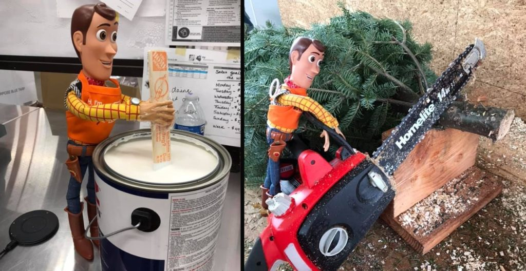 Woody Works at Home Depot