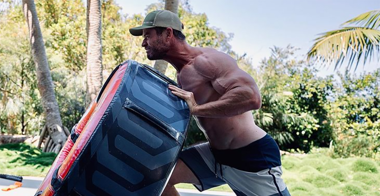 Hemsworth becoming Hulk