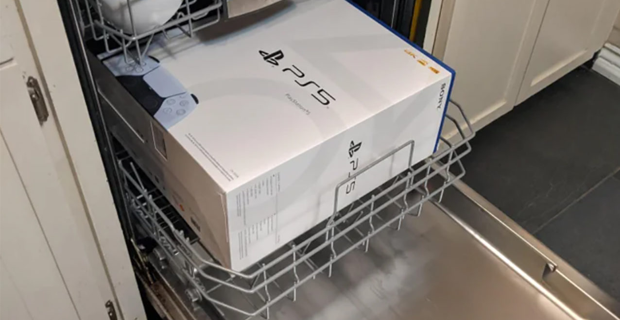 PS5 In Dishwasher
