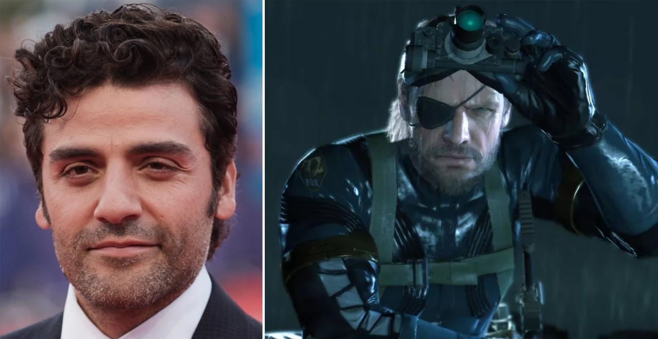 Oscar Isaac is Snake