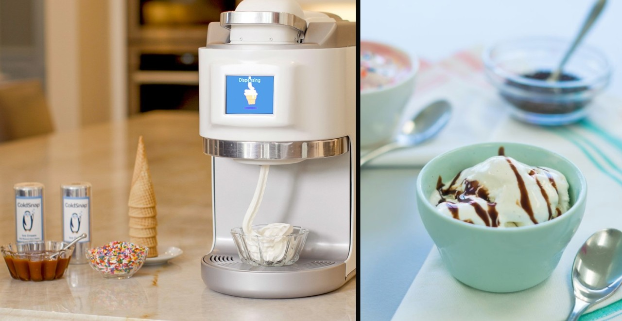 ColdSnap the Keurig for Ice Cream