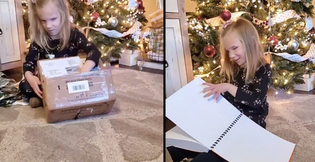 Blind 7-year-old gets braille Harry Potter