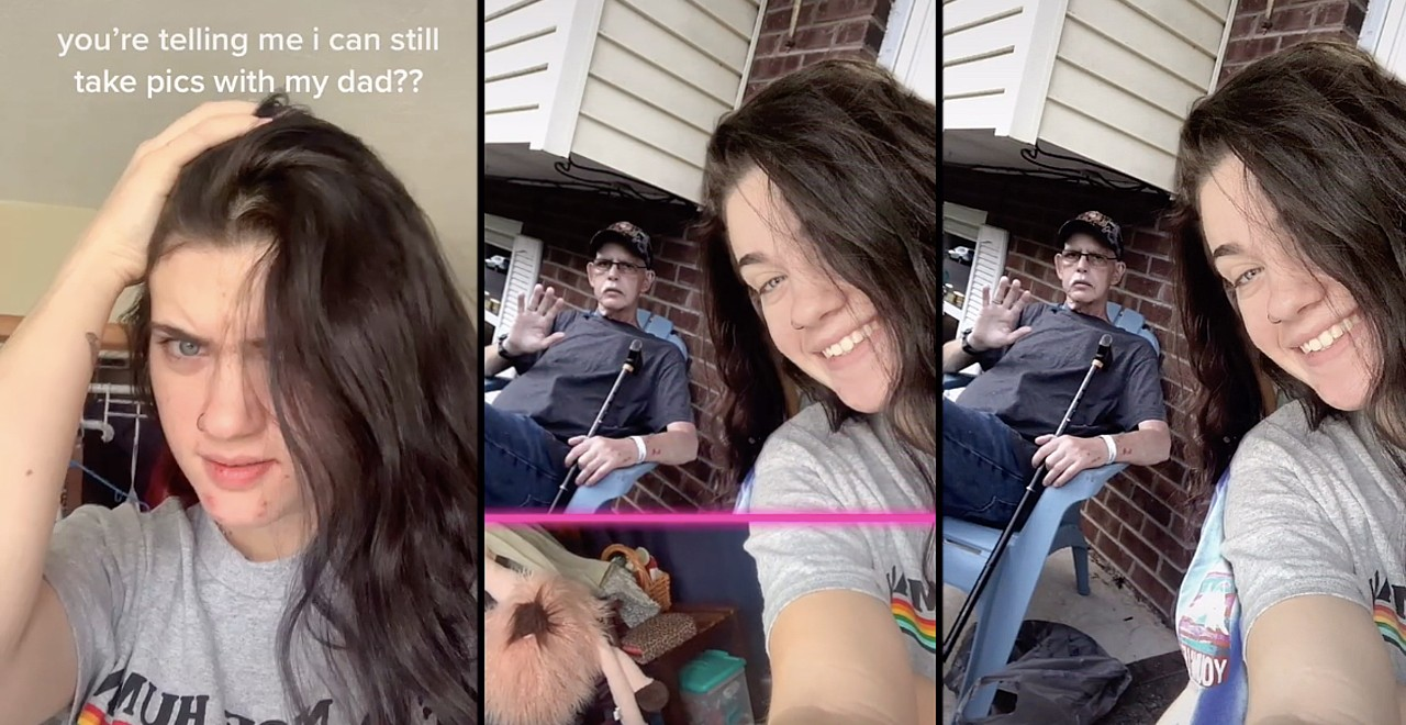 TikTok Filter Allows Users to Create Photos with People They've Lost