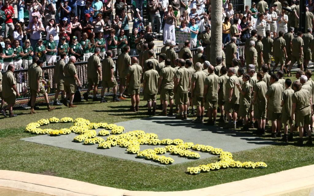 Steve Irwin's memorial service