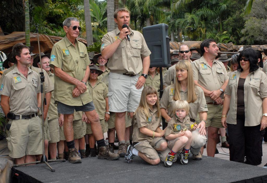 Steve Irwin Memorial day at the Australia Zoo