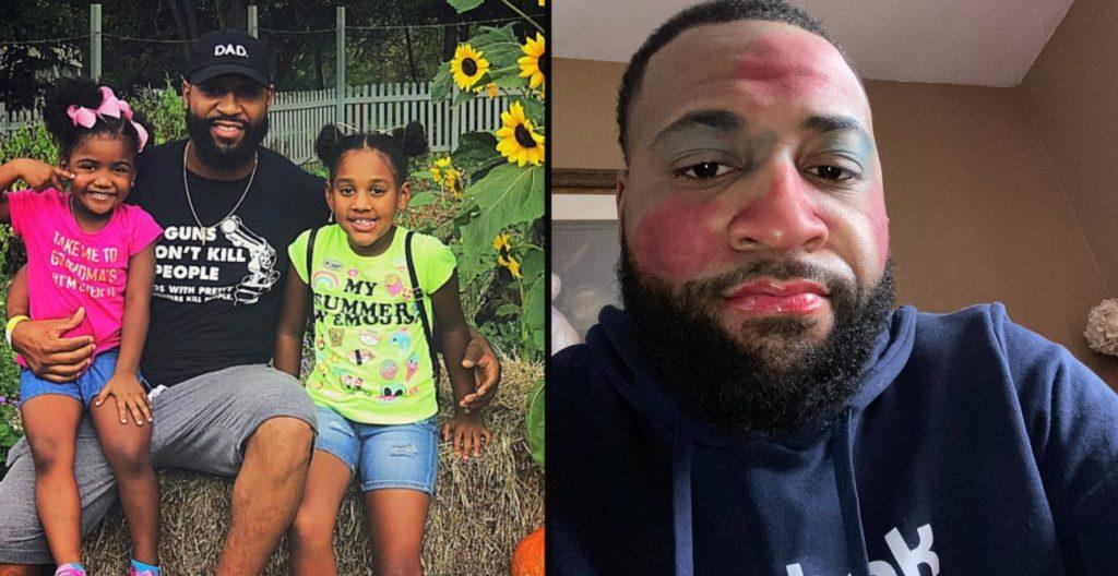 Girl Dads Bond Over Makeup