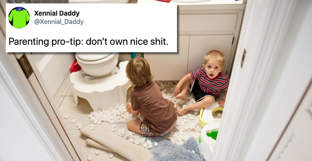 Funniest parenting tweets 1/8/21