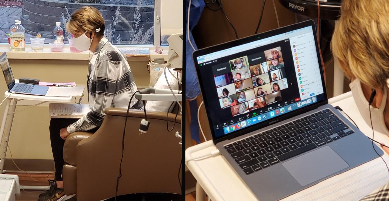Remote Teacher Chemo