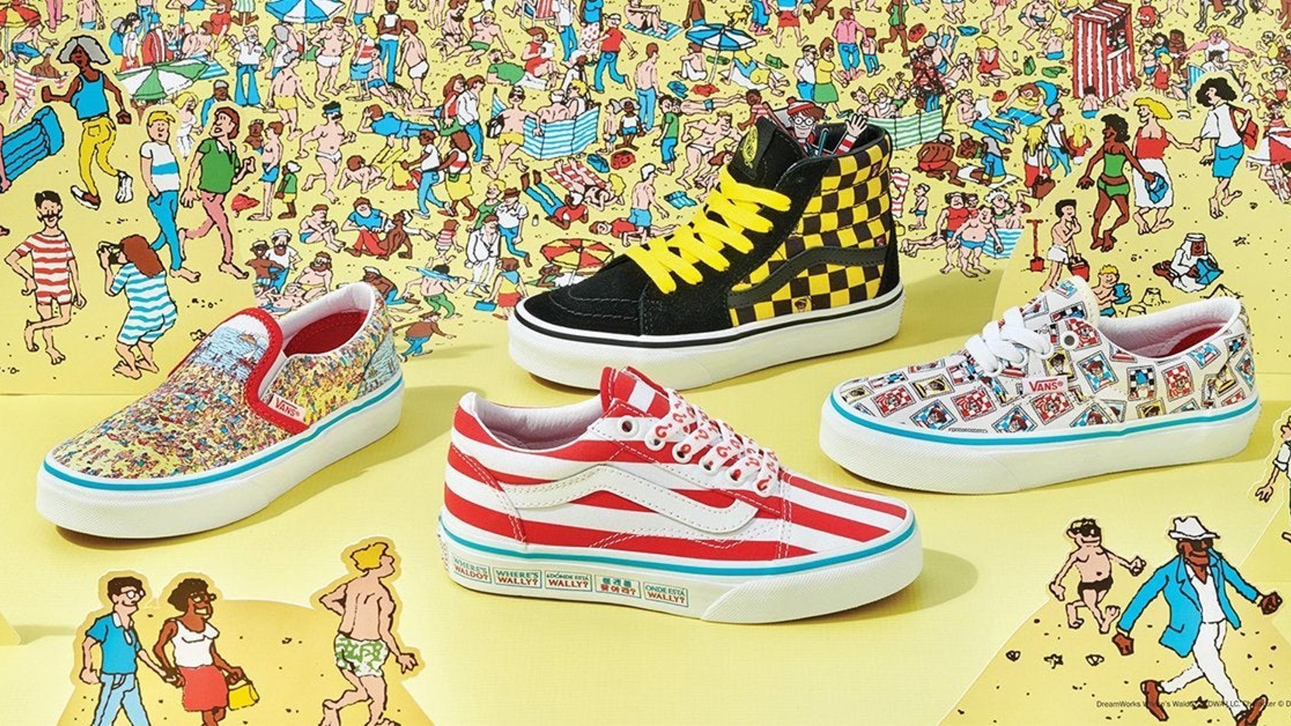 New Where's Waldo Vans