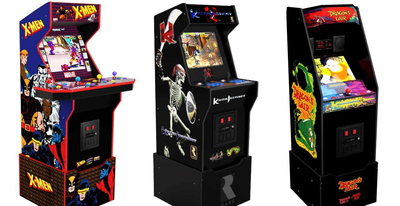 Arcade1Up Is Adding X-Men, Killer Instinct & Dragon's Lair To Cabinet Collection