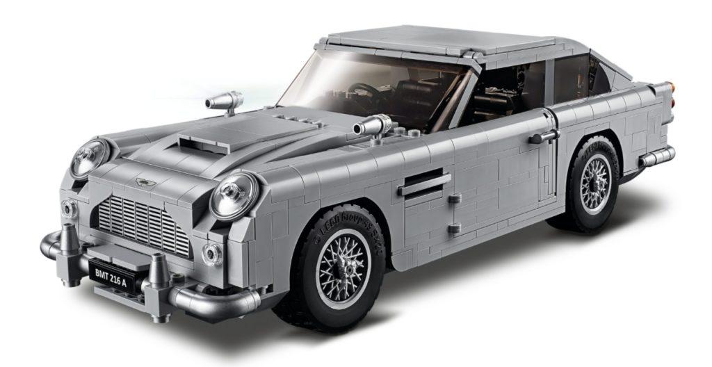 Aston Martin LEGO Set
