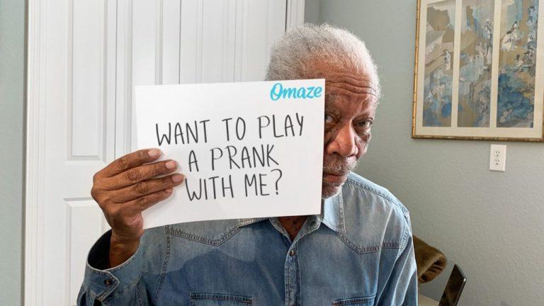 Morgan Freeman Prank Call