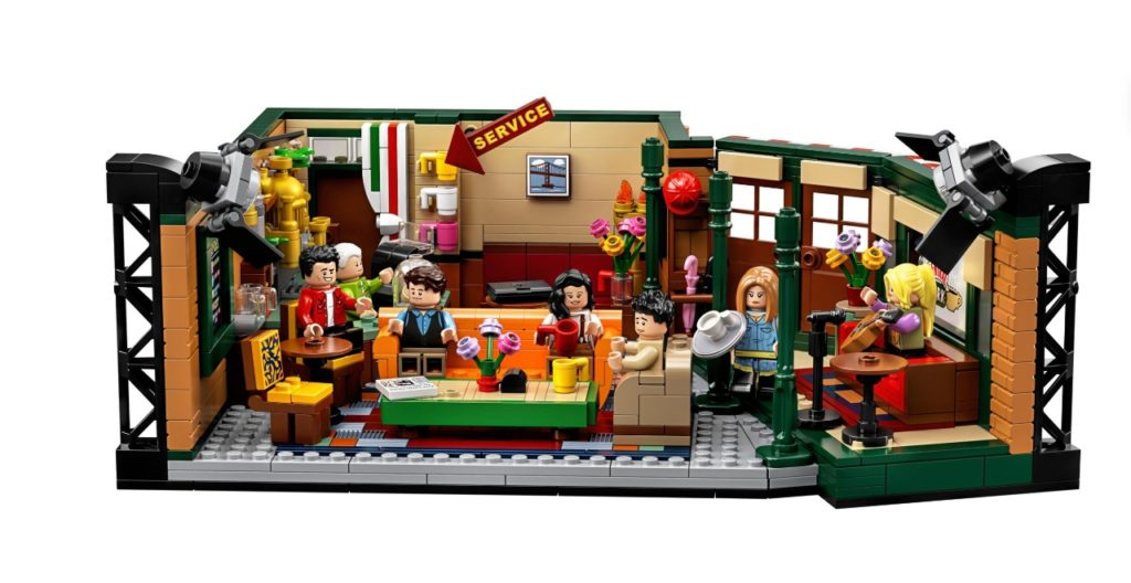 Friends Show Lego Set