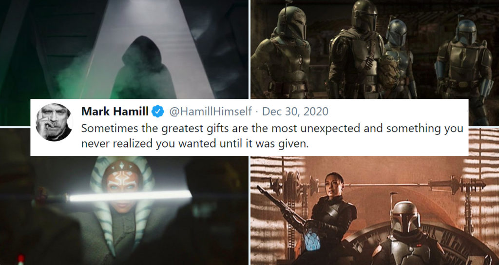 Hamill Thankful for The Mandalorian