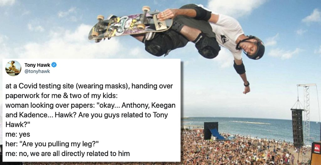 Tony Hawk Again Not Recognized in public