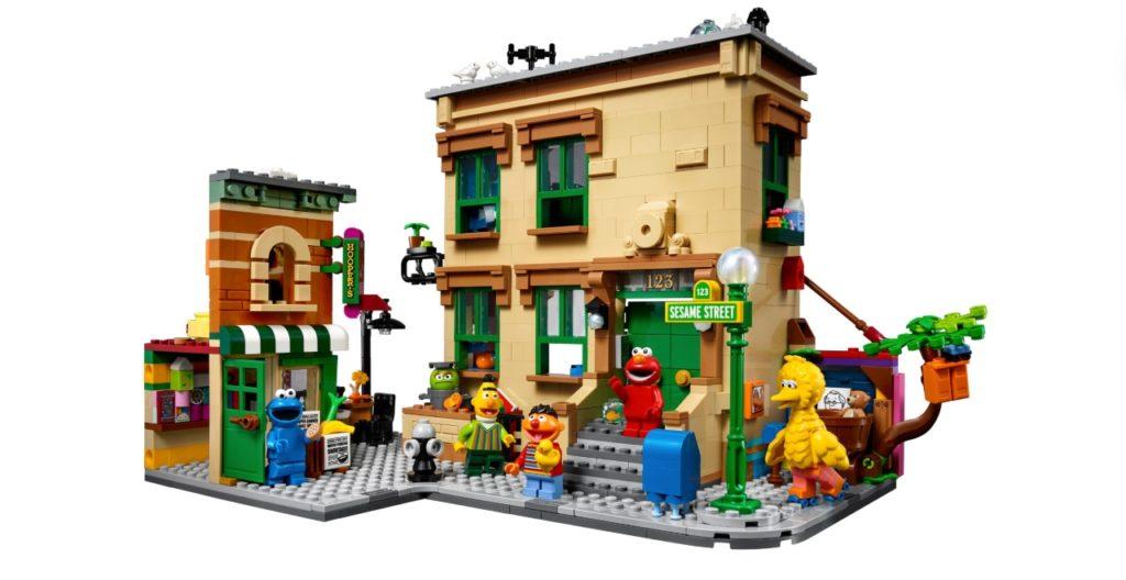 Sesame Street Lego Set