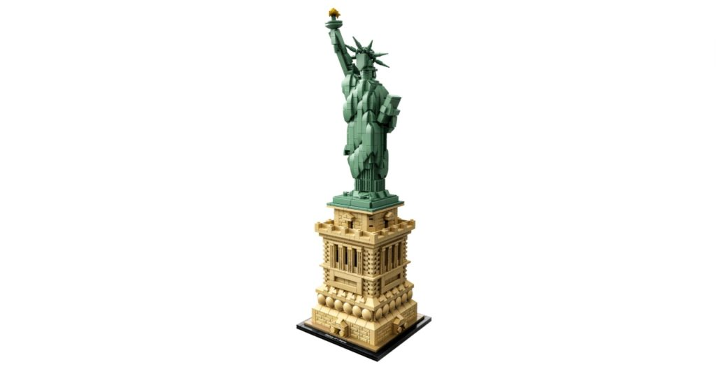 Statue of Liberty Legos