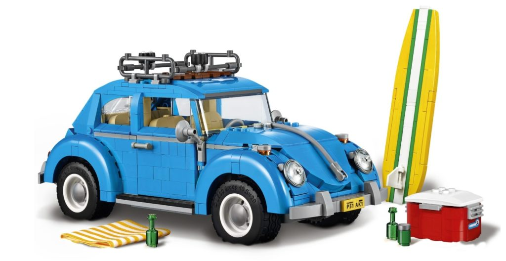 VW Beetle LEGO Set