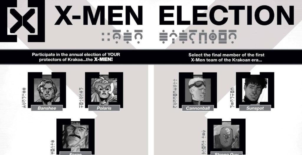 Vote for the Next X-Men