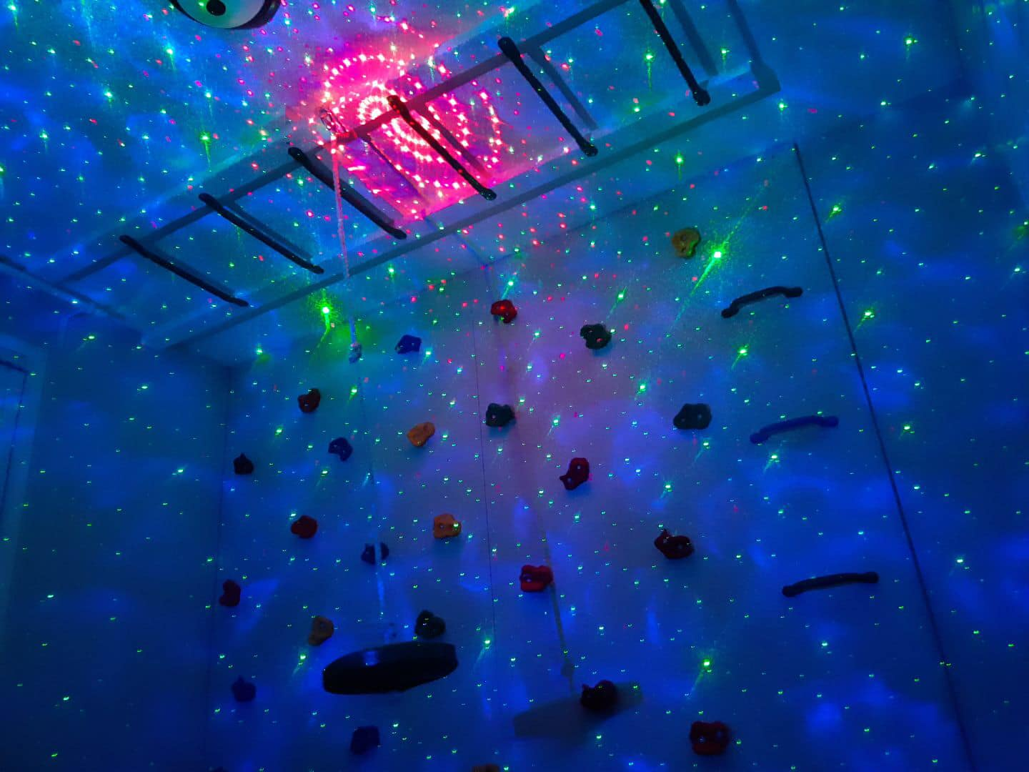 Kids Glowing Climb Wall